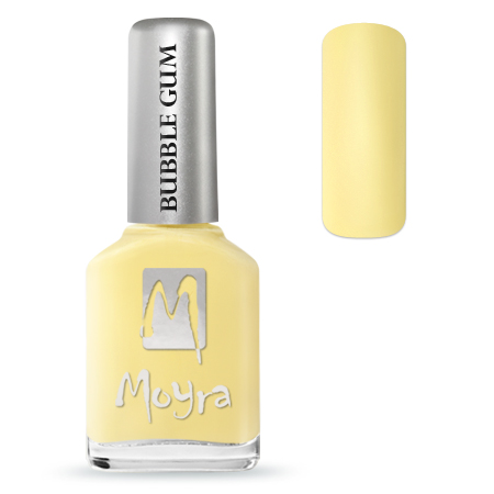 Moyra Bubble Gum Effect 12ml 622 Limoncello